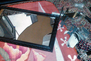 اولین تصاویر از خسارت زلزله 4.7 ریشتری در نهاوند