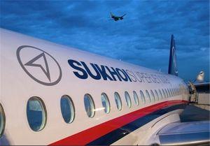 فیلم جدید از لحظه آتشگرفتن هواپیمای سوخوی روسیه