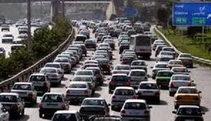 ترافیک نیمه سنگین در آزادراه تهران ـ کرج