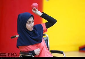 عکس/ ورزشی ویژه معلولان جسمی حرکتی