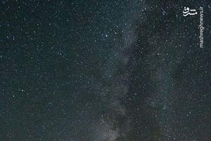 عکس/ شب های دریاچه نمک کویر حاج علیقلی دامغان
