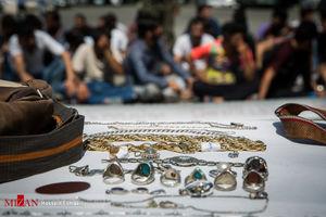 دزد طلاهای یک میلیاردی آشنا از آب در آمد