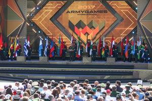 افتتاحیه مسابقات بینالمللی ارتش های جهان