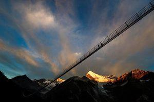 عکس/ افتتاح بلندترین پل معلق جهان