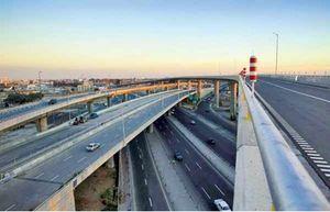 فیلم/ بخشی از اتوبان حکیم و تونل غزه که امروز افتتاح میشود