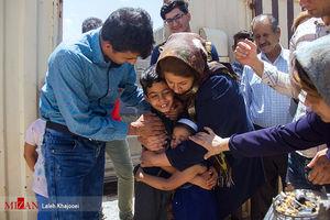 بازگشت کودک ربوده شده به آغوش خانواده