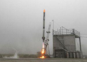 سقوط راکت فضایی ژاپن پس از 80 ثانیه