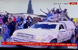 فیلم/ استقبال مردمی از رزمندگان حزبالله در شرق لبنان