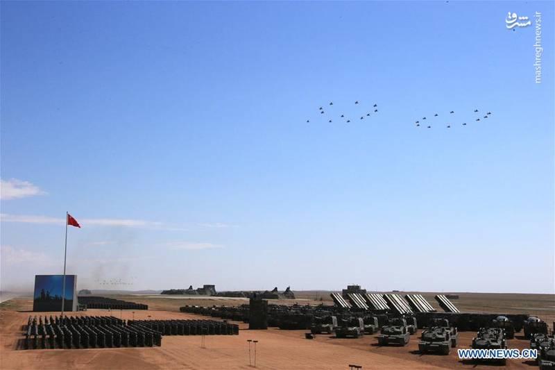 رژه نظامی روز ارتش چین