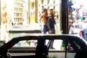 فیلم/گروگانگیری نافرجام در خیابان امام رضا(ع) مشهد