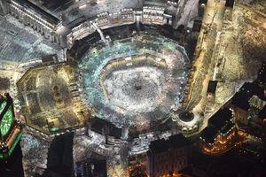 عکس هوایی از مسجدالحرام