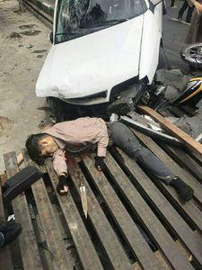عکس/ زورگیری که در خیابانهای تهران شکار چرخهای یک زانتیا شد!
