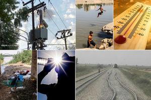 خسارات گرما درخوزستان؛از مرگ وحوادث ریلی تا آتش گرفتن تجهیزات برق