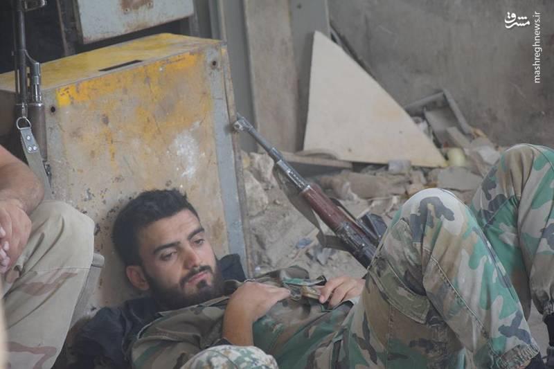 نیروهای ارتش سوریه