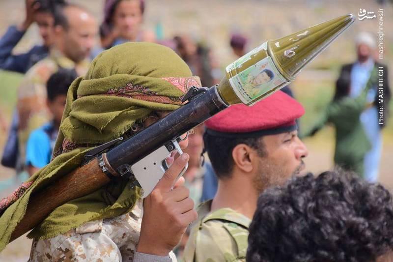 رژه نیروهای انصارالله یمن