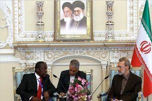 لاریجانی: ایران علاقمند به ارتقاء همکاریهای صنعتی و اقتصادی با کامرون است