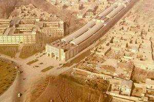 تصویر هوایی از بازار رضای مشهد در دهه ۵۰