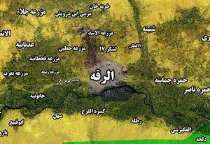 آخرین تحولات میدانی شهر رقه؛ محله الکریم و الدرعیه  در تصرف نیروهای دموکراتیک کرد + نقشه میدانی