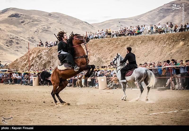 طرح دستمال های کردی مشرق نیوز - عکس/ جشنواره بازیهای بومی محلی با اسب