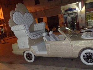 عکس/ ماشین عروس غول پیکر!