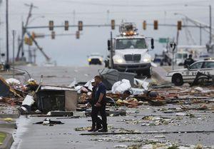 عکس/ گردباد سهمگین در آمریکا