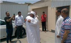 آزادی یک روحانی بحرینی از زندان +عکس