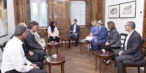 دیدار هیأت پارلمانی تونس با بشار اسد