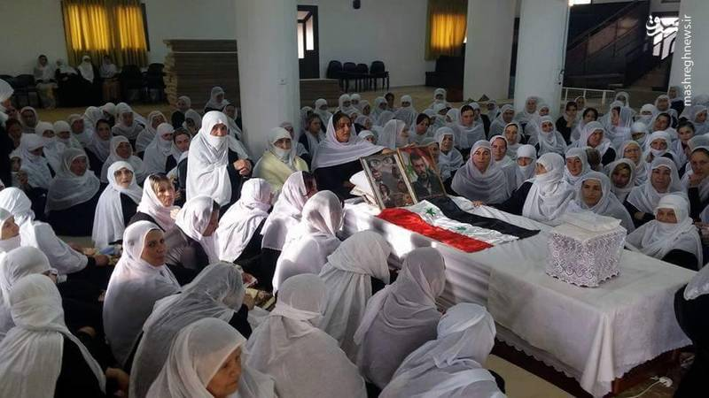 تصاویری-از-مراسم-تشییع-3-شهید-دروزی-روستای-حضر-3.jpg