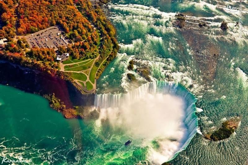 آبشار های نیاگارا | کانادا/ خروش و ریزش ۳۱۶۰ تن آب از این آبشارها، یکی از دیدنی ترین مناظر را پدید می آورد که با نام آبشار نیاگارا شناخته می شود. تماشای این آبشارها بر روی سکو و یا در قایق یکی از به یاد ماندنی ترین لحظات را می سازد.