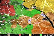 نیروهای متحد به ۲ کیلومتری بزرگترین پایگاه داعش رسیدند+ نقشه میدانی