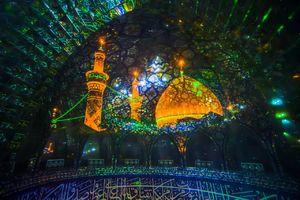 عکس/ نمایی زیبا از حرم حضرت ابوالفضل(ع)