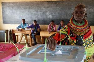 عکس/ انتخابات در کنیا
