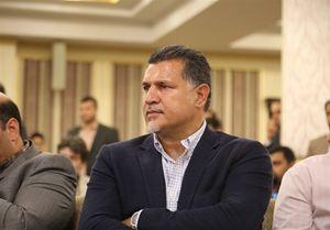 خوشحالی علی دایی بدون مزاحمت +عکس