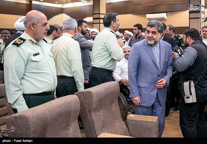مراسم تودیع و معارفه رئیس پلیس تهران