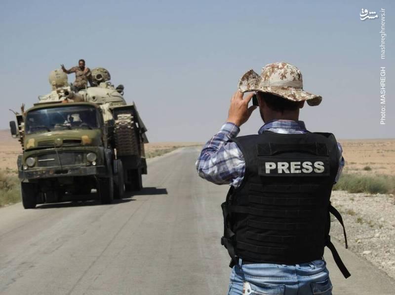 خبرنگاران میدانی در سوریه