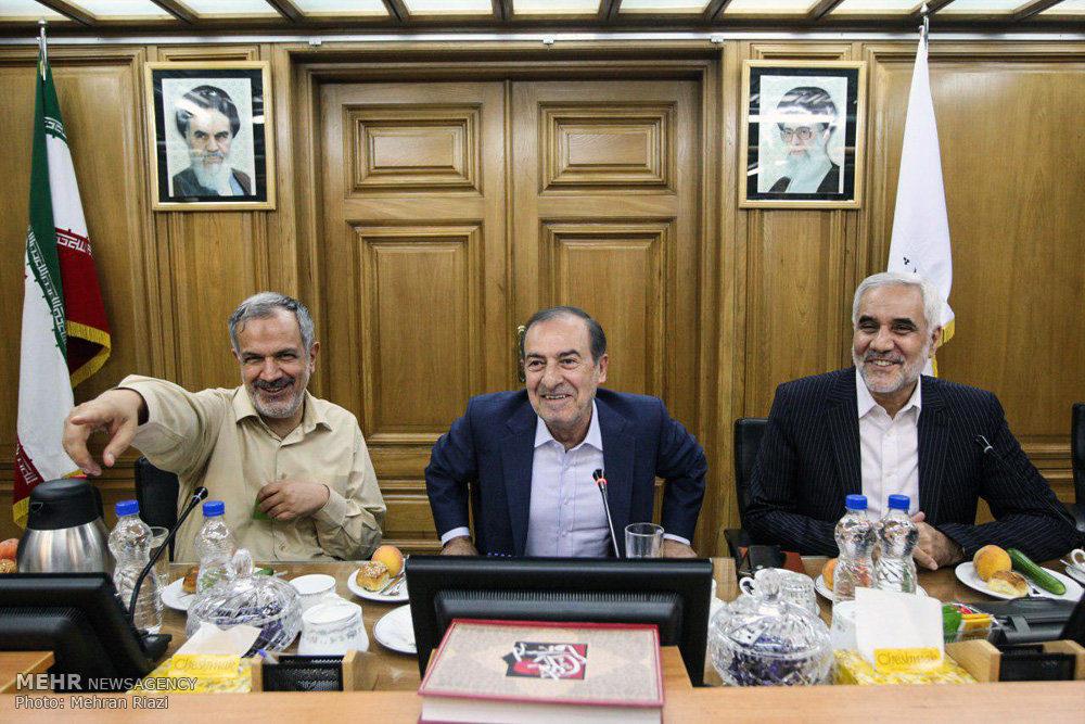2015056 - نجفی شهردار تهران شد