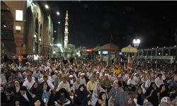 مراسم دعای کمیل حجاج ایرانی در مکه برگزار شد