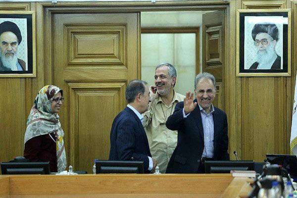 2015043 - نجفی شهردار تهران شد