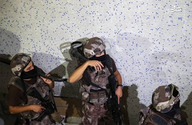 عملیات ضدتروریستی در قلب ترکیه
