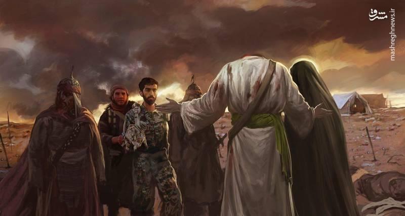 عکس شهید حججی در چنگال داعشیان روضهای است مکشوف