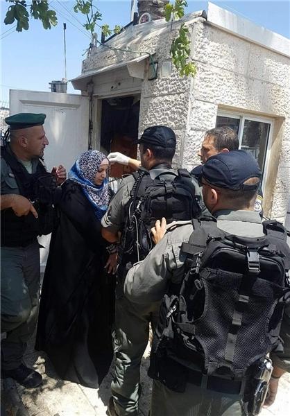 بازداشت دختر فلسطینی به اتهام انجام عملیات استشهادی +عکس