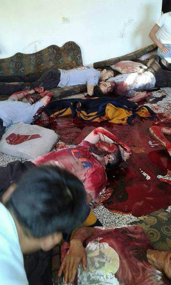 قتلعام کلاه سفیدهای القاعده در ادلب