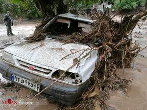 خسارات سیلاب در شهرستان کلات