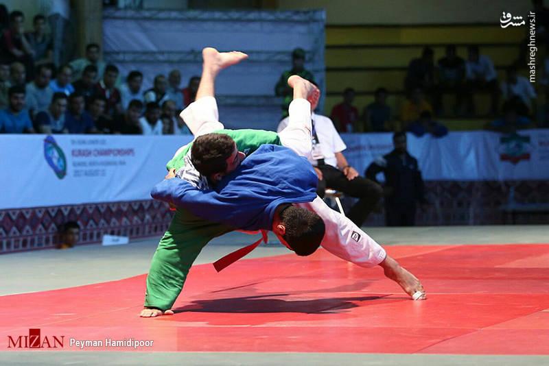 رقابت های کوراش قهرمانی جوانان آسیا