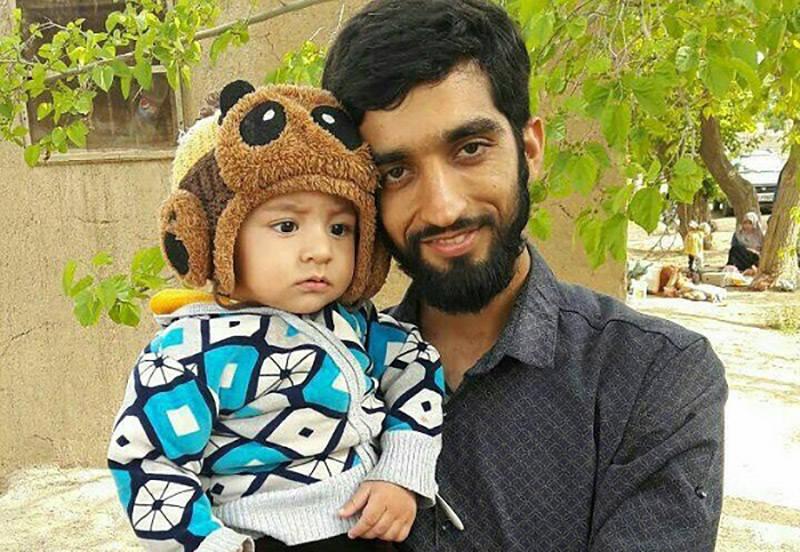 صوت/ آخرین وصیت شهید حججی به فرزندش علی