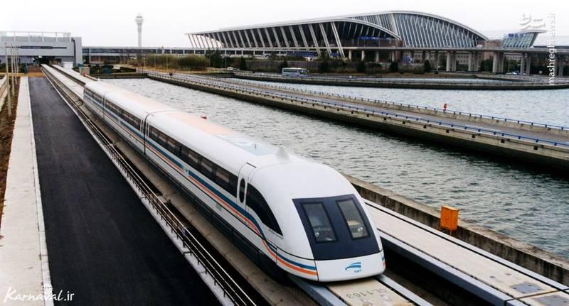 شانگهای ماگلو/ شانگهای ماگلو سریع ترین قطار در جهان است که می تواند با حداکثر سرعت ۴۳۰.۹ کیلومتر در ساعت حرکت کند و از اول ژانویه ۲۰۰۴ مسافران را در مدت زمان ۷ دقیقه و ۲۰ ثانیه از لانگ یانگ رود (Long Yang Road) به فرودگاه بین المللی پودنگ برساند.