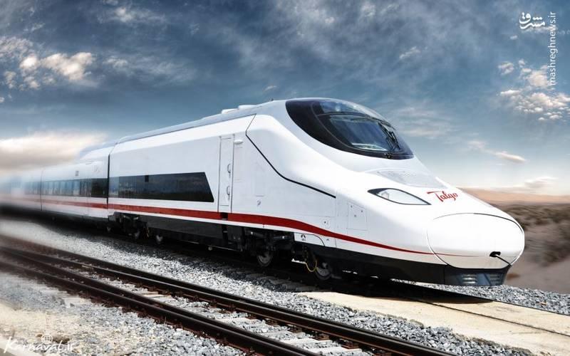 تالگو ۳۵۰  تالگو/  ۳۵۰ قطار سرالسیری در اسپانیاست که می تواند با حداکثر سرعت ۳۴۹.۸ کیلومتر در ساعت بین مادرید و بارسلونا حرکت کند.