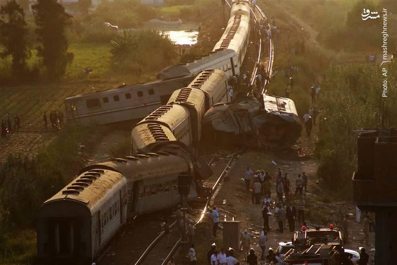 تکرار تصادف مرگبار قطارها در مصر