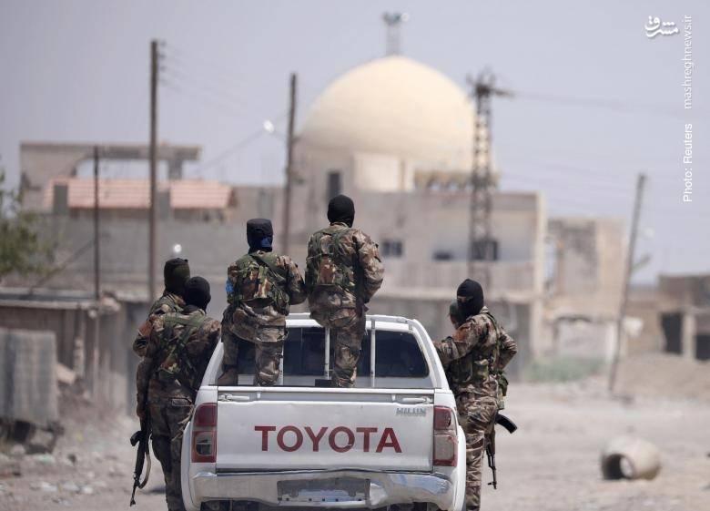 در مسیر نبرد با داعش در رقه
