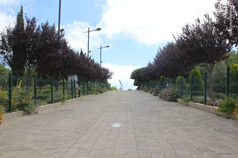 معبر ورودی موزه جهادی «ملیتا» در جنوب لبنان